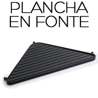 Grille fonte Plancha Cube Höfats