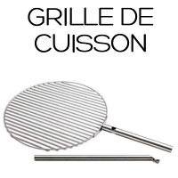 Grille cuisson pour brasero Triple