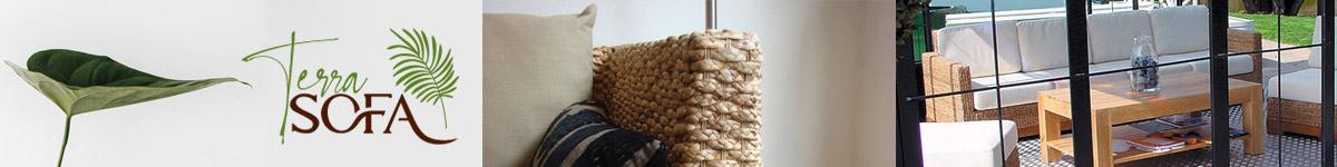 Terra Sofa, mobilier et canapés naturels écologiques sans COV