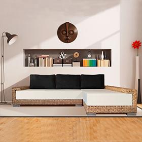 Canapé d'angle écologique design