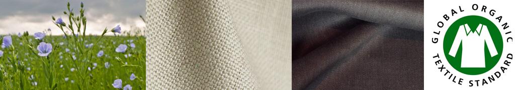 Housse de canapé en lin et chanvre biologiques