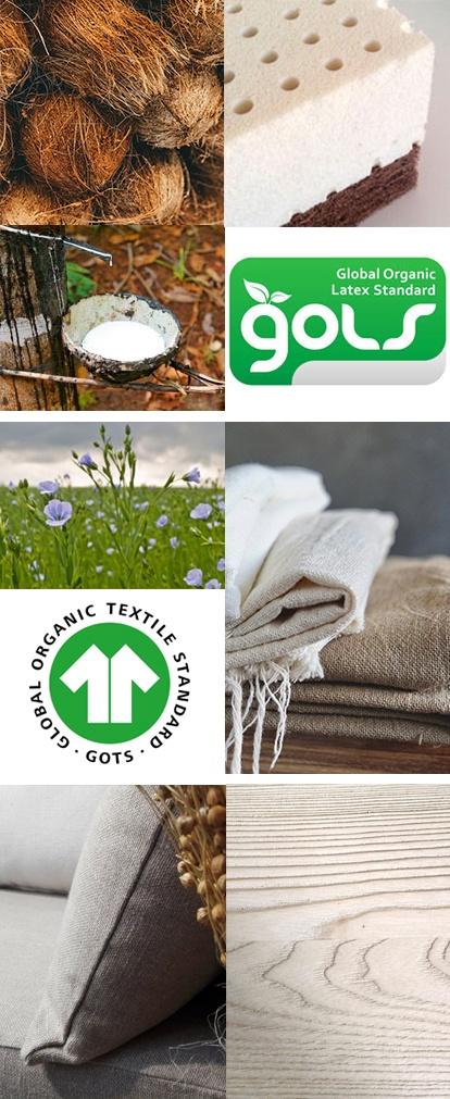 Des matières naturelles et écologiques pour mon canapé