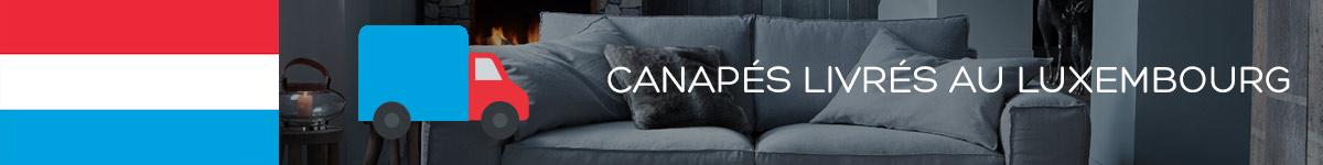 Canapé livré Luxembourg
