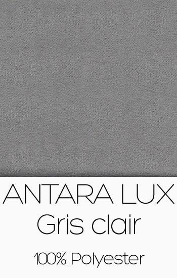 Tissu Antara Lux Gris clair