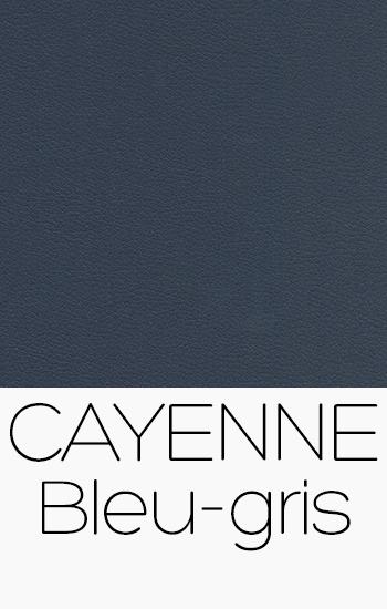 Tissu Cayenne bleu-gris