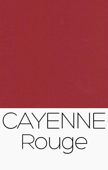 Tissu Cayenne rouge
