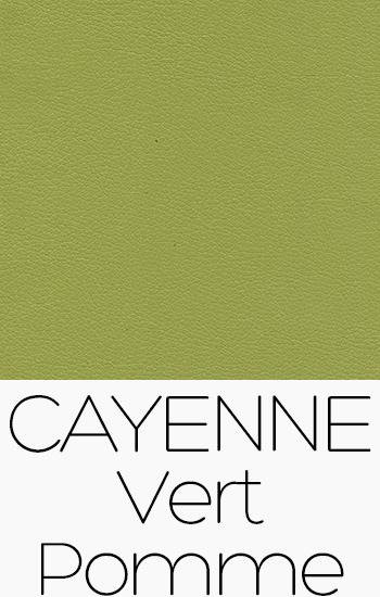 Tissu Cayenne vert-pomme