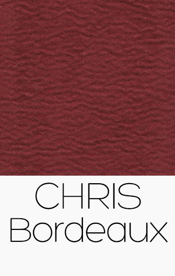 Tissu Chris bordeaux