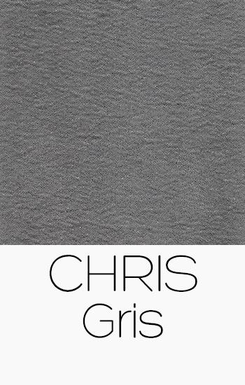Tissu Chris gris