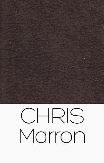 Tissu Chris marron