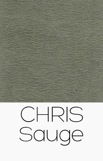 Tissu Chris sauge