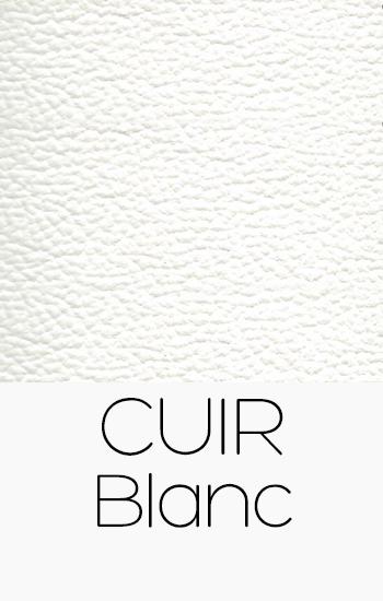 Tissu Cuir blanc