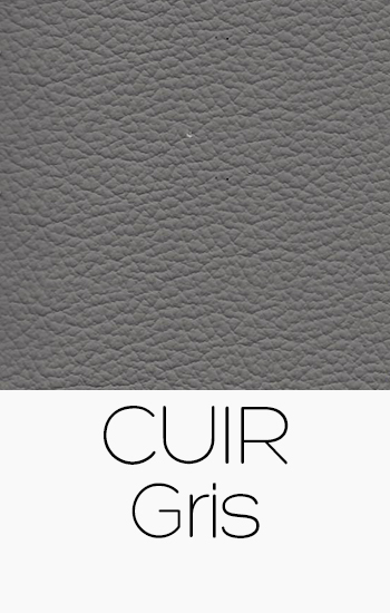 Tissu Cuir gris