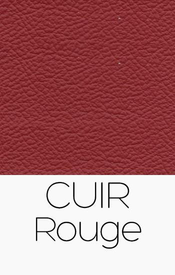 Tissu Cuir rouge