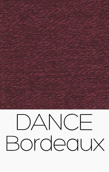 Tissu Dance bordeaux