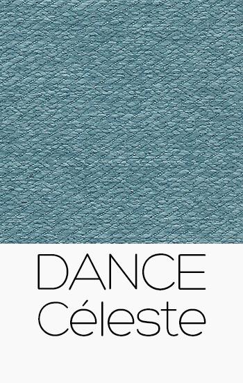 Tissu Dance celeste