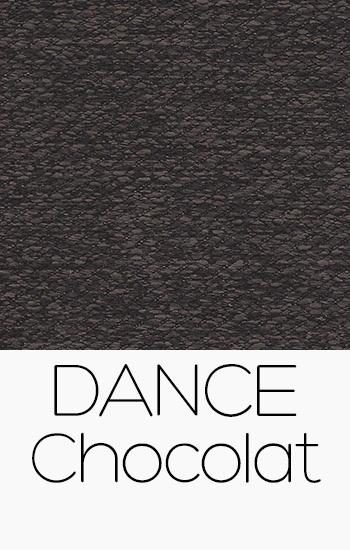 Tissu Dance chocolat