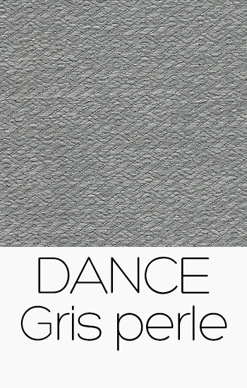 Tissu Dance gris-perle