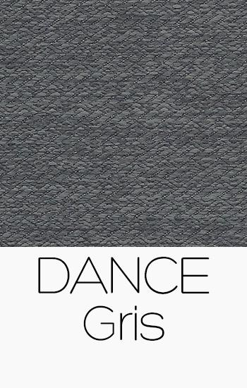 Tissu Dance gris