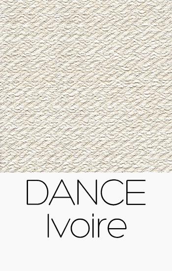 Tissu Dance ivoire