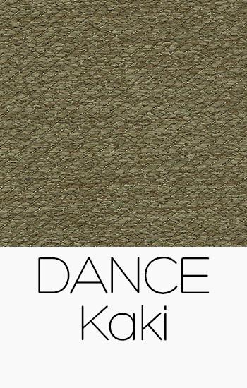 Tissu Dance kaki