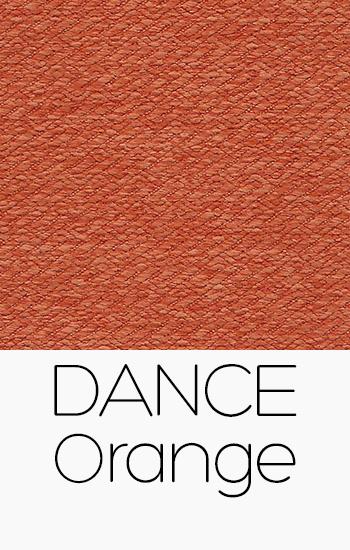 Tissu Dance orange