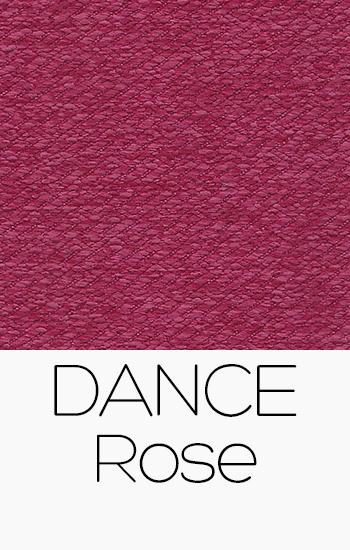 Tissu Dance rose