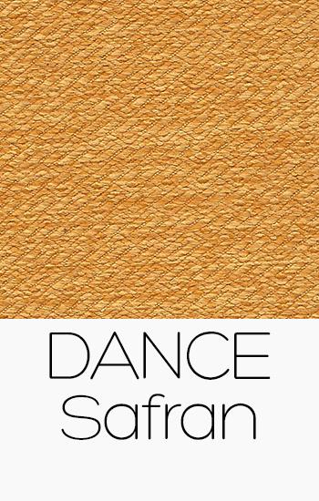 Tissu Dance safran