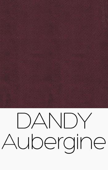 Tissu Dandy aubergine