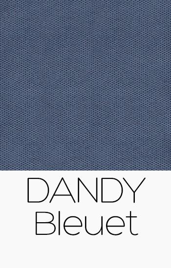 Tissu Dandy bleuet