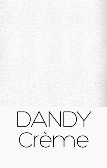 Tissu Dandy creme