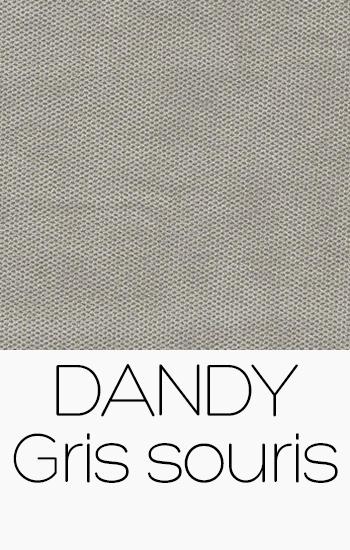 Tissu Dandy gris-souris