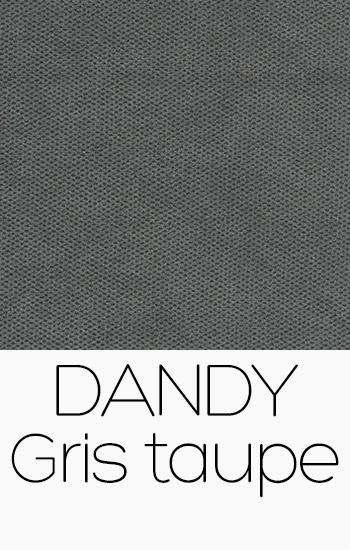 Tissu Dandy gris-taupe