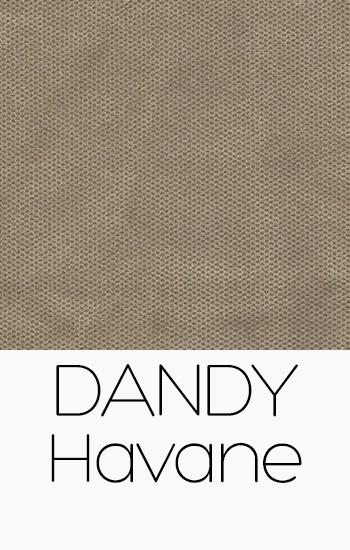 Tissu Dandy havane