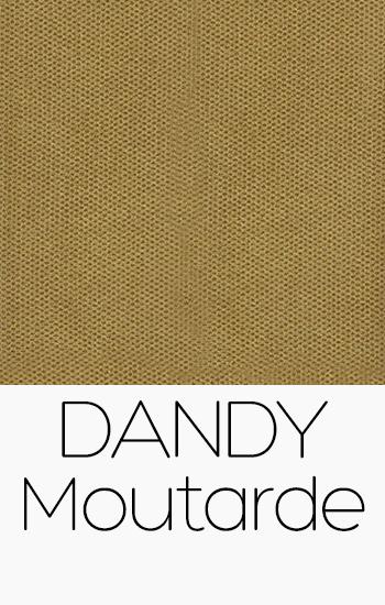 Tissu Dandy moutarde