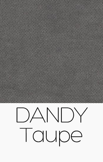 Tissu Dandy taupe