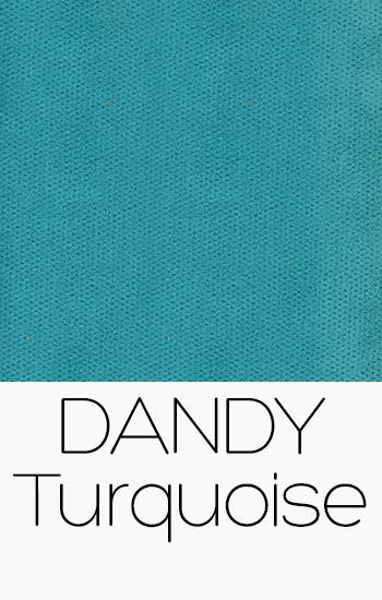 Tissu Dandy turquoise