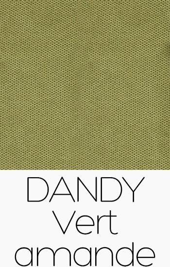 Tissu Dandy vert-amande