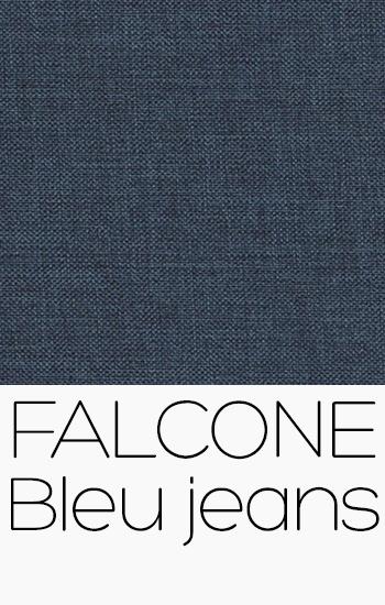 Tissu Falcone bleu-jeans