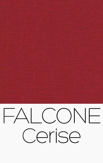 Tissu Falcone cerise