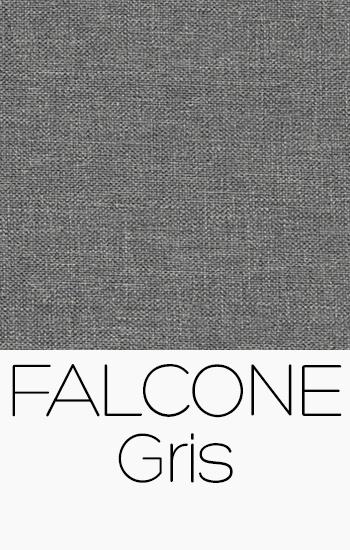 Tissu Falcone gris