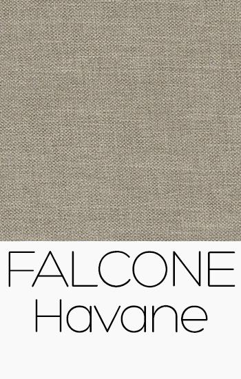 Tissu Falcone havane