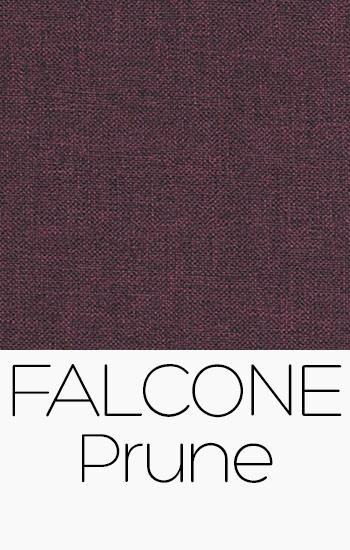 Tissu Falcone prune