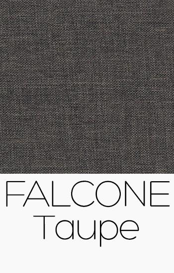 Tissu Falcone taupe