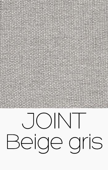 Tissu Joint beige-gris