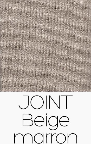 Tissu Joint beige-marron