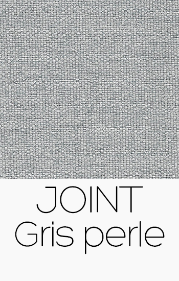 Tissu Joint gris-perle
