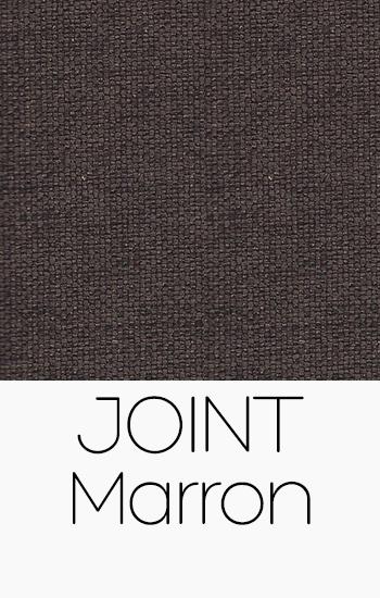 Tissu Joint marron