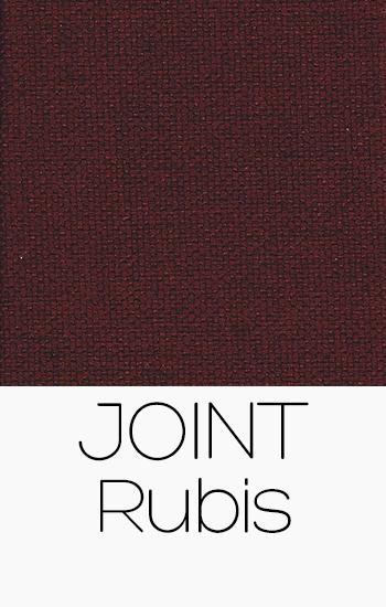 Tissu Joint rubis