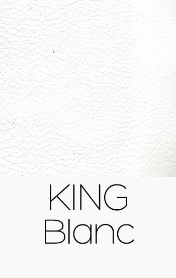 Tissu King blanc